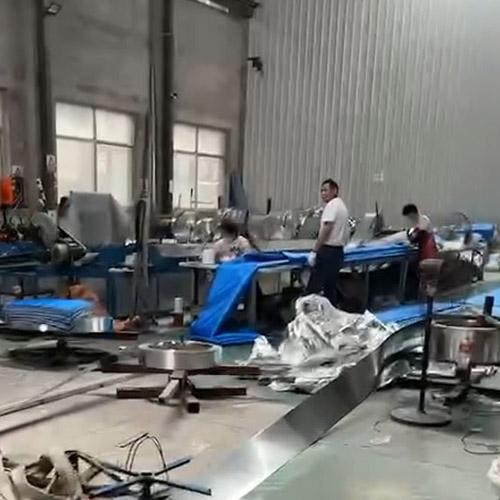生产过程中